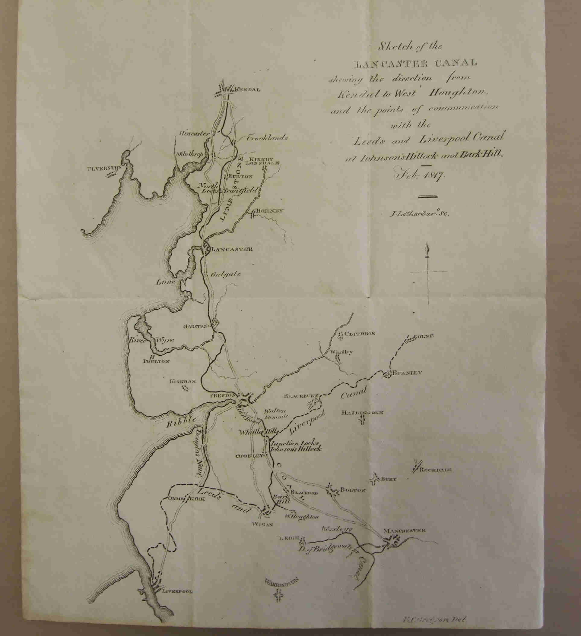 lancaster canal 1817